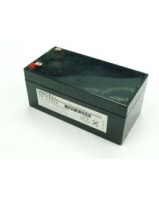 Yuasa NP3.2-12FR 12V 3.2Ah Sealed Lead Acid Battery Replacement with F1 Terminals