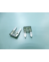 1A Black colour mini blade fuses - SKU/CODE: F100-1AS-10