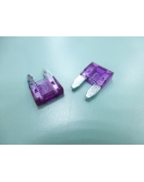 3a Pink Colour Mini Blade Car Fuse Unicell
