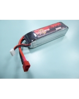 11.1V 3000mAh 60C Li-polymer battery with connector - SKU/CODE: LPM34118T95H3