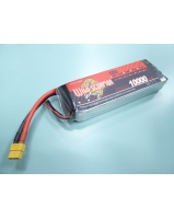 11.1V 10000mAh 25C Li-po battery with connector