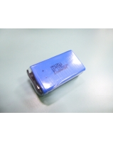 9V 1200mAh nonrechargeable Lithium battery for fire alarm and smoke detector - SKU/CODE: ULM006P