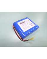 14.8V 3.0Ah 18650 4S1P li-ion battery pack with 3 wire output
