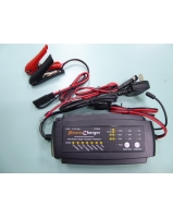 7 Stage smart battery charger for 12V 2A 4A and 8A