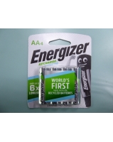 Energizer recharge Extreme AA4 NH15EBP4 battery